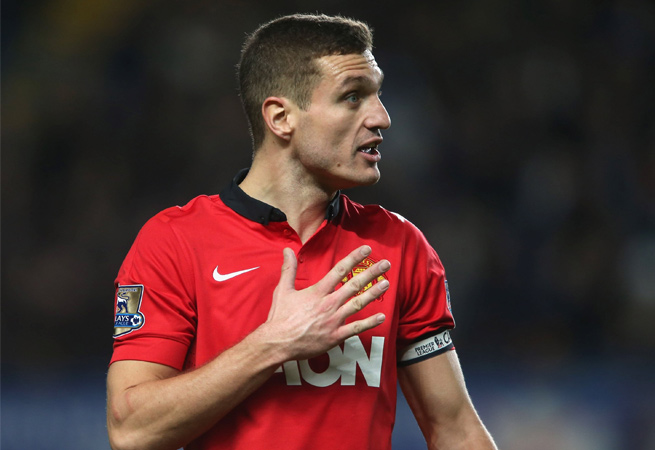 Nemanja Vidic will leave Man United after eight years with the club.