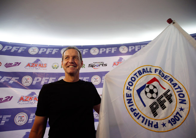 Former U.S. national team captain Thomas Dooley is the new manager of the Philippines national team.