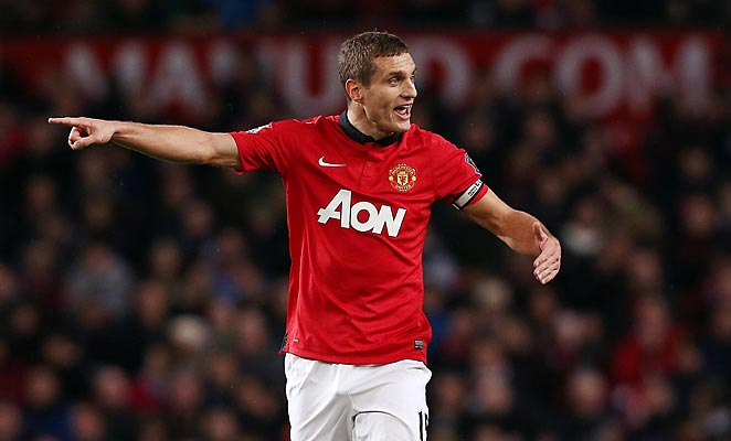 Nemanja Vidic has struggled this season as Manchester United rebuilds under David Moyes.