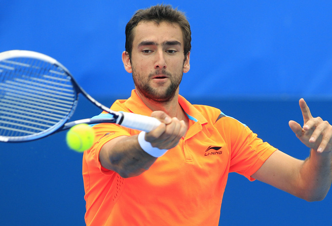 Marin Cilic won the Zagreb Indoors for the fourth time in his career, beating Tommy Haas in straight sets.