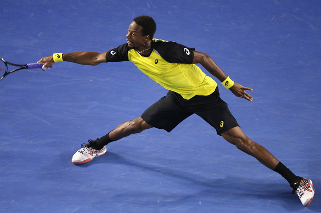 Gael Monfils won in straight sets for his fifth career tournament title and first since 2011.