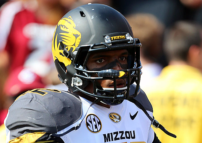 Michael Sam registered an SEC-high 11.5 sacks to help lead Mizzou to a 12-2 record in the 2013 season.