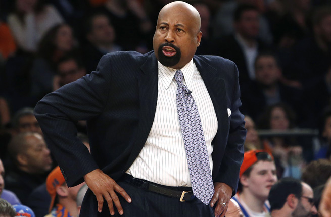 Mike Woodson's Knicks are just 1-4 in February and sit two games behind the eighth-seeded Bobcats.