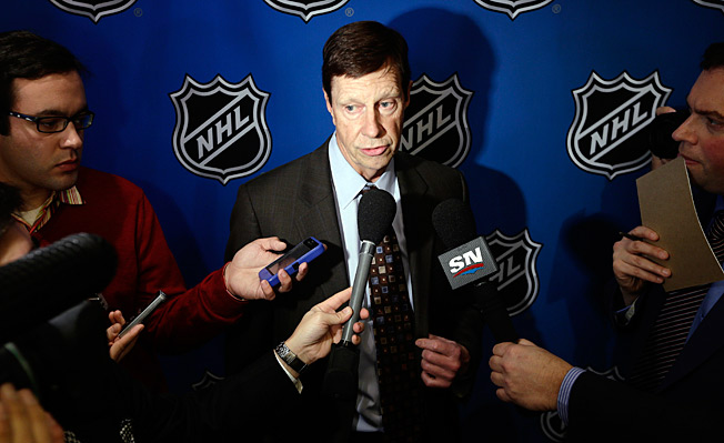 David Poile is still recovering after being struck in the head by a puck during a Predators game.