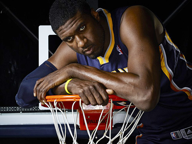 Roy Hibbert has helped put the Pacers in position to earn the top seed in the Eastern Conference.