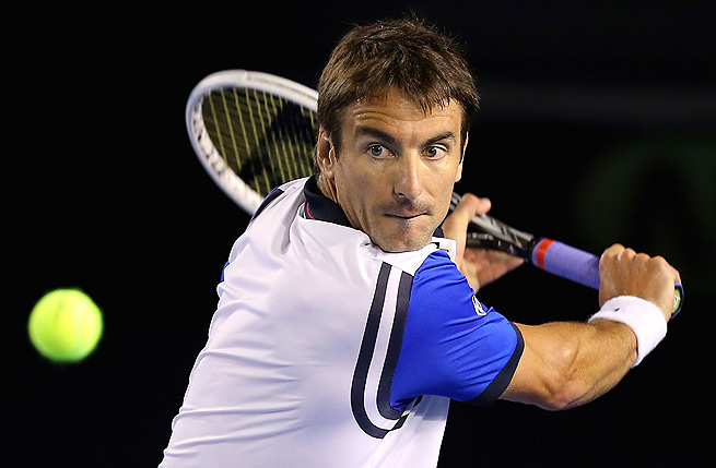 Tommy Robredo cruised to a 6-4, 6-4 victory against Pablo Carreno Busta.