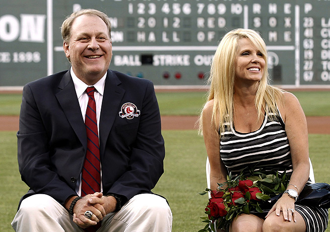 Curt Schilling, with his wife Shonda in 2012, announced that he was suffering from cancer on Feb. 5.