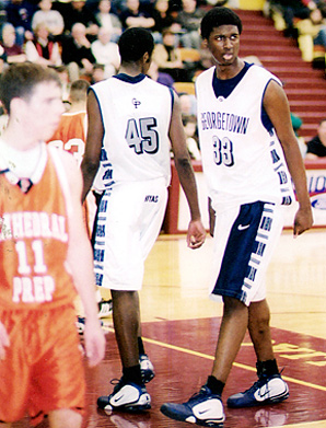Roy Hibbert's size made him stand out in high school, but he was sorely lacking in strength and dedication until he got to college.