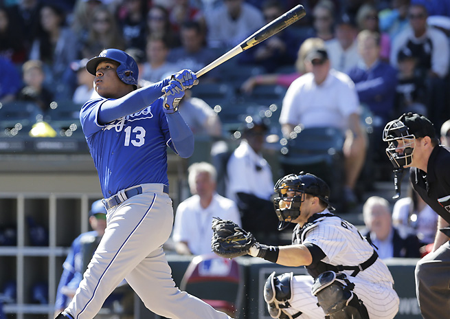 A master of plate discipline, Salvador Perez is a quality investment for your catcher slot.