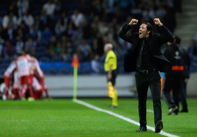 Atletico Madrid manager Diego Simeone has had plenty of goal celebrating to do despite losing his top talents to bigger clubs.