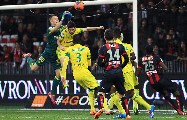 Nice and Nantes played to a 0-0 draw on Saturday at the Allianz Riviera stadium in Nice.
