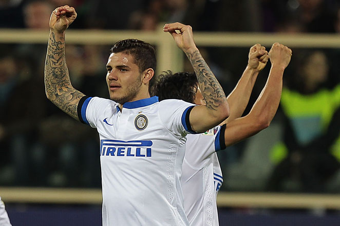 Inter moved five points behind fourth-place Fiorentina and eight points behind third-place Napoli.