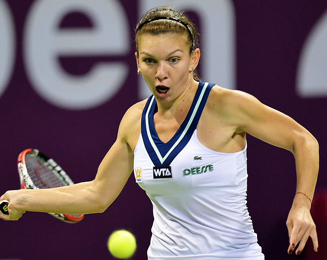 Simona Halep coasted to an easy victory to win in the finals of Doha.