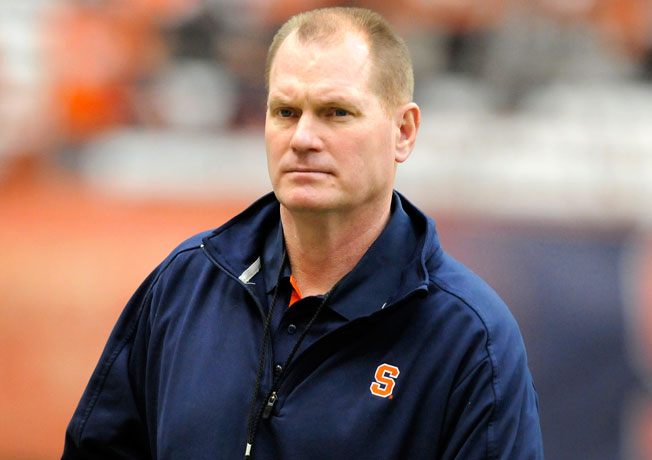 Scott Shafer led Syracuse to a 7-6 mark and a Texas Bowl win in his first season as coach of the Orange.