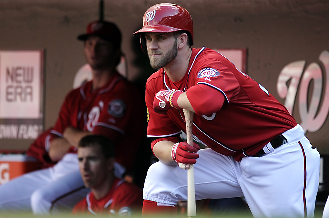 Bryce Harper has all the tools to be a top fantasy player, but can be maddeningly inconsistent.