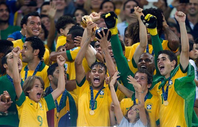 After winning the 2013 FIFA Confederations Cup, Neymar & Co. will hope to lift the World Cup trophy this summer on home soil, with the eyes of a nation upon them.