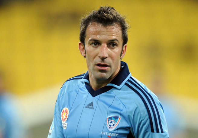 Former Juventus standout Alessandro Del Piero will play against the Italian power in a friendly in Australia this summer.