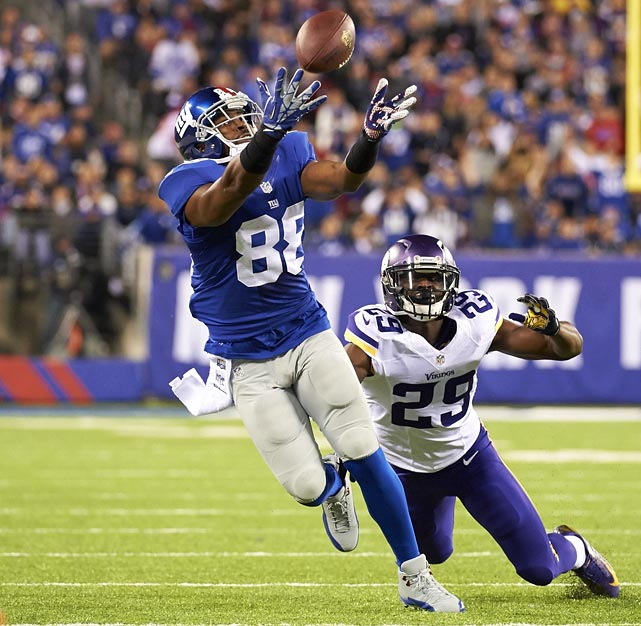 After five productive seasons with the Giants, Nicks will hit free agency this offseason. Unfortunately for him, he was unable to catch a single receiving touchdown in 2013 after catching 27 total his first four years in the league. Though he didn't reach the end zone, Nicks still managed to catch 56 passes for 896 yards.