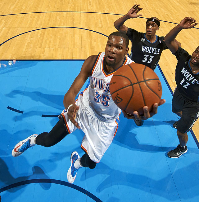 "Durant is not a fan of his nickname ""The Slim Reaper,"" so he decided to give himself the nickname '""The Servant."" ""I like to serve everybody. My teammates. Ushers at the game. The fans,"" said Durant. ""I know it's kinda weird to make your own nickname, but I like that one better."""