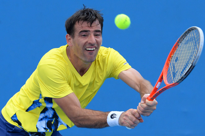 With his win over Albano Olivetti, fifth-seeded Ivan Dodig will play Germany's Tobias Kamke in the second round.