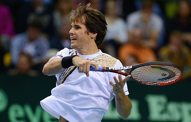 Tommy Haas became the latest in a long line of No. 1 seeds to fall at the Delray Beach Open.