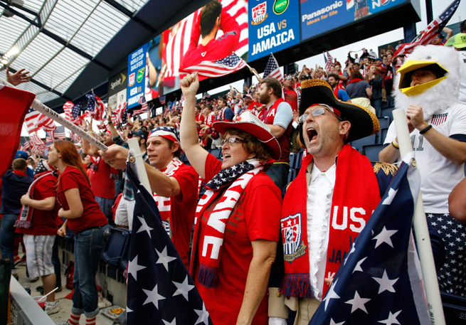 American fans have purchased the most tickets among supporters from visiting countries for this summer's World Cup in Brazil.