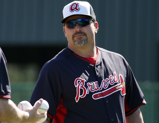 Fredi Gonzalez was one of four managers to go over the new instant replay rules on Friday.