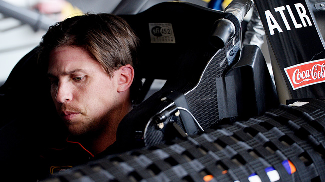 Denny Hamlin, whose 2013 season was wrecked by a back injury, is making an impressive comeback.