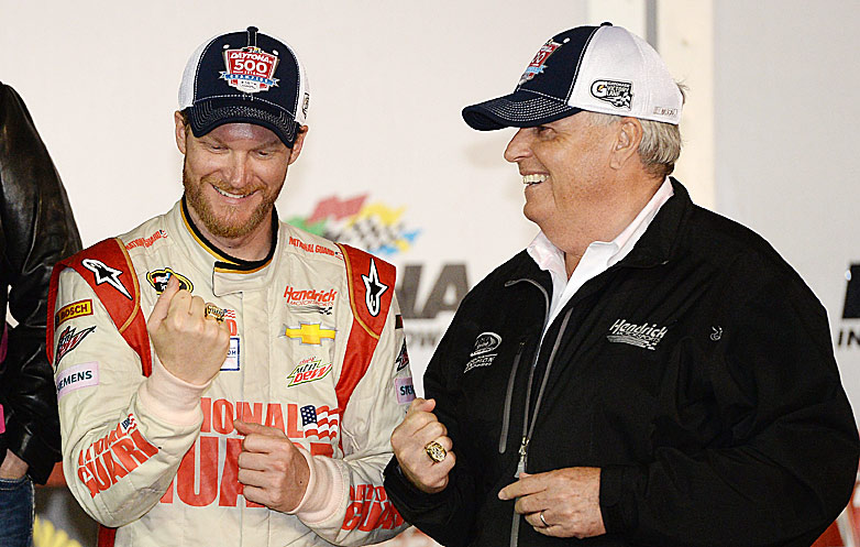 Dale Earnhardt Jr. and Rick Hendrick emerged as the biggest winners at Daytona.