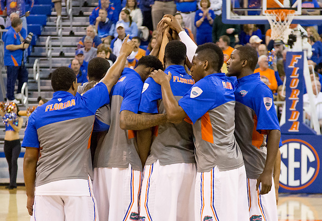 The Gators are the new No. 1 team in the AP poll and the new No. 1 overall seed in our Bracket Watch.