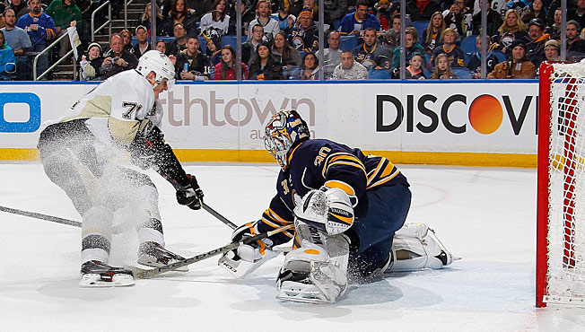 Sabres goalie Ryan Miller has been a central figure in trade rumors since the start of the season.