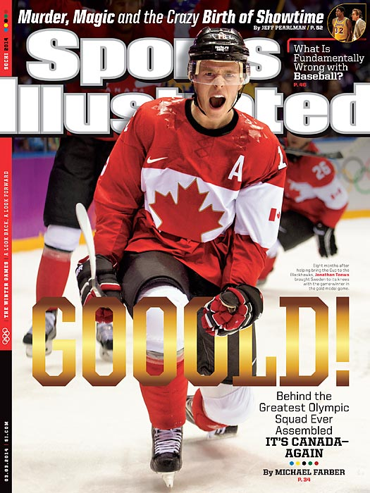 For the third time in the five Olympics since NHL players began participating, Canada claimed the gold medal in men's hockey. The Canadians dominated the competition, eliminating the U.S. in the semifinals before blanking Sweden 3-0 in the gold-medal game, including a goal from Jonathan Toews. With the NHL refusing to commit to future Olympics, this could be the last truly insurmountable Olympic hockey championship squad.