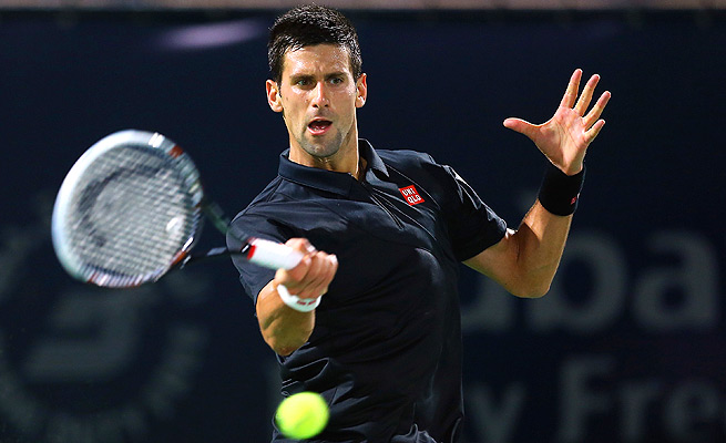 Novak Djokovic cruised past Roberto Bautista Agut 6-1, 6-3 in less than an hour.