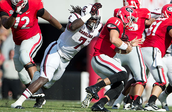 Scouts rave about Jadeveon Clowney's talent. Will the Texans make him the No. 1 overall pick?