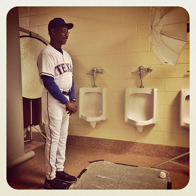 Yes, spring training is here and the Texas Rangers' skipper is urging his minions to flush their bad memories of last season.