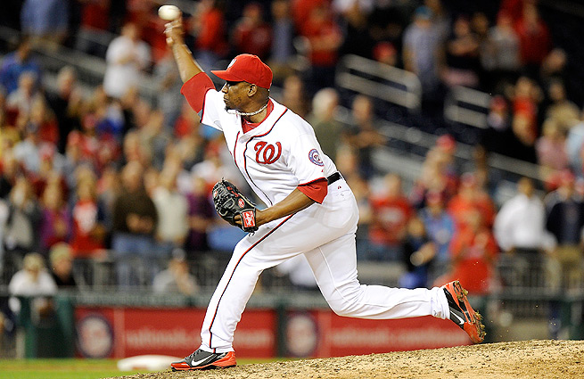 Rafael Soriano recorded 43 saves last season, but his strikeout rate fell to a career-low 6.9 in 2013.