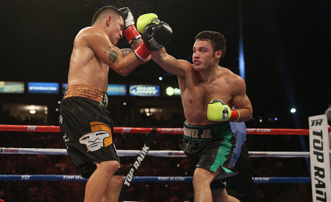 Brian Vera (right) and Julio Cesar Chavez Jr. will face off for a second time after a controversial ending to their first bout.