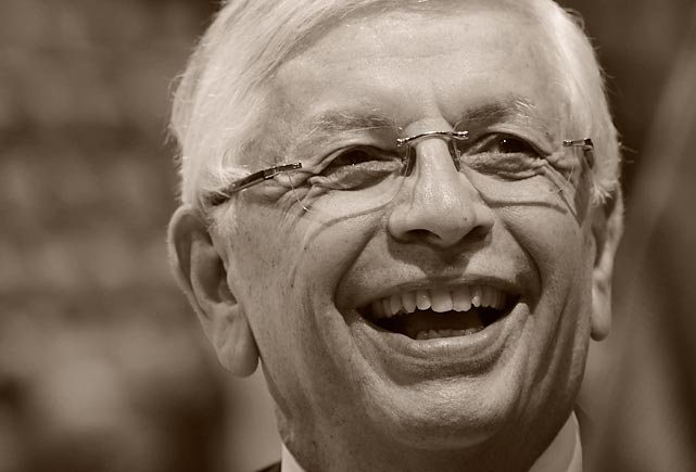 Arguably the most important commissioner in American professional sports history, David Stern spent 30 years at the helm of the NBA. Under his watch, the NBA expanded tremendously, both nationally and internationally. Games are now televised in 215 countries and regular season contests are regularly played outside North America. Stern also changed the structure of the league, instituting a salary cap and revenue sharing.