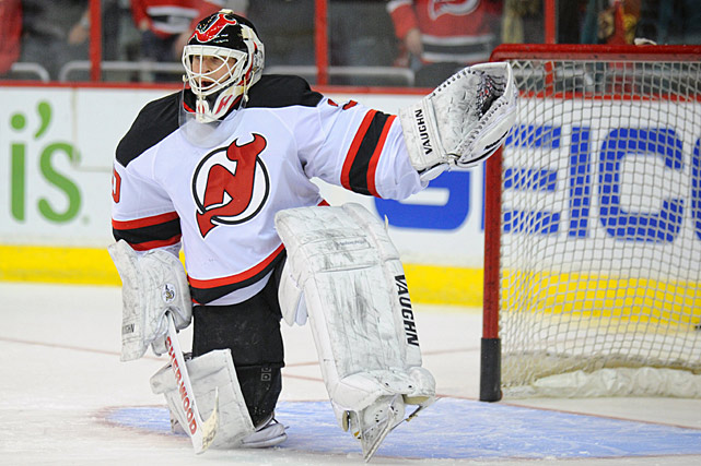 Another aging member of the Devils -- he's 41 -- Brodeur is the NHL's all-time wins leader and the counterbalance to the trade rumors swirling around Jaromir Jagr. There's always the chance that New Jersey GM Lou Lamoriello could trade Brodeur, now the backup to starting goalie Cary Schneider and an unrestricted free agent after this season, for some added scoring punch to help his team in its push for the playoffs. -- <italics>Mark Beech</italics>