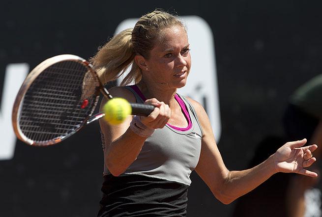 The third-seeded Klara Zakopalova was runner-up at the Rio Open last week.