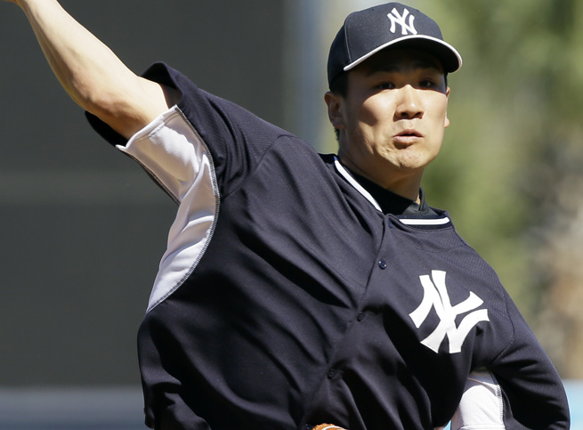 Masahiro Tanaka wasn't perfect, but he was sharp in his first outing as a New York Yankee.