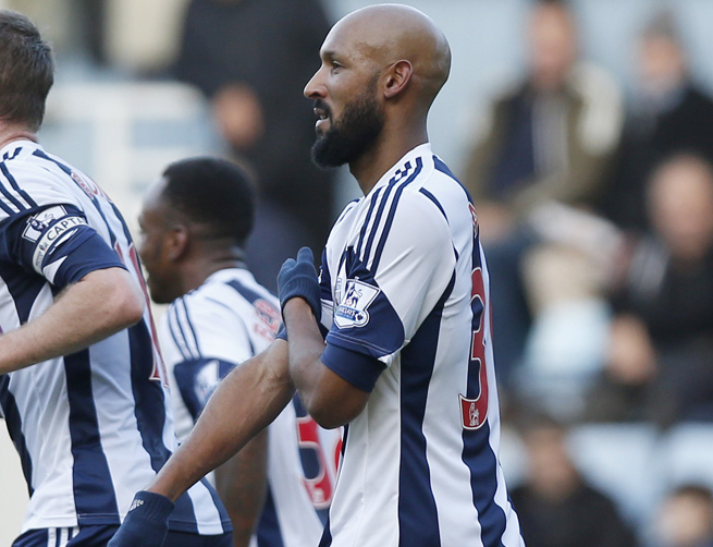 Nicolas Anelka was given a five-match ban for making a racist gesture on Dec. 28.