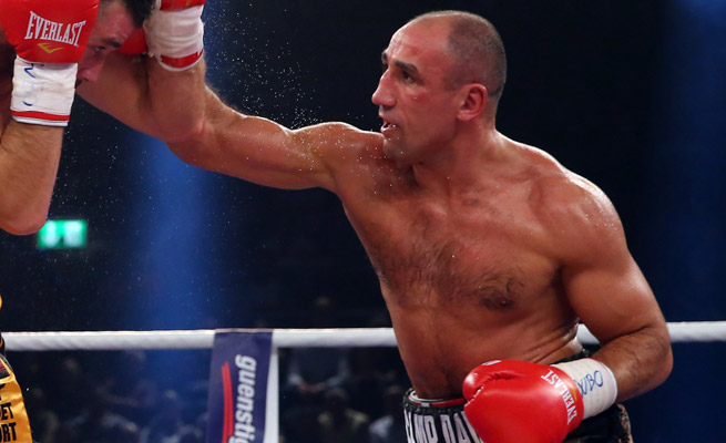 Arthur Abraham regained the WBO super middleweight title he lost to Robert Stieglitz last year.