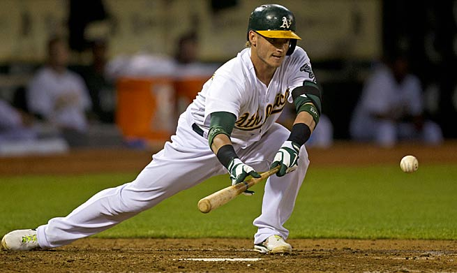 Josh Donaldson will bat second for the A's, meaning he will likely trade in RBIs for more runs scored.