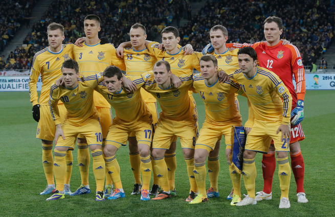 Ukraine's national team remains united despite the ongoing unrest in the players' home country.