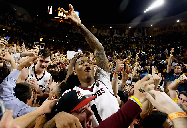 Jahii Carson and Arizona State have all but secured their ticket to the dance by avoiding bad losses in the regular season.