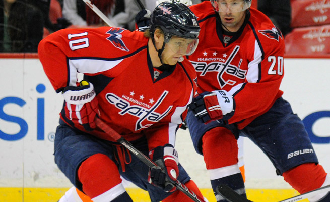 Acquired by the Capitals at last season's trade deadline, Martin Erat had one goal and 24 points in 53 games this season.