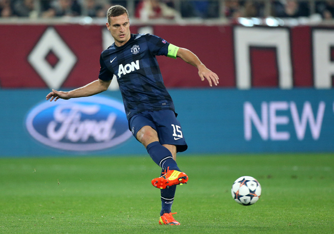 Manchester United captain Nemanja Vidic will move to Inter Milan after this season is over.