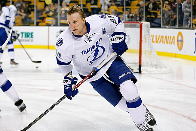 Steven Stamkos' return will be bittersweet after the Lightning traded linemate Martin St. Louis.