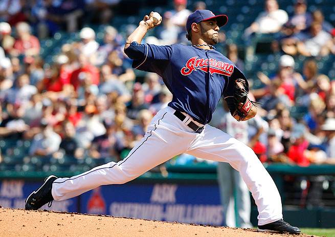 Danny Salazar only pitched 52 innings with the Indians last year, which may contribute to his high ADP.